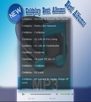Coldplay Best Collection apk screenshot