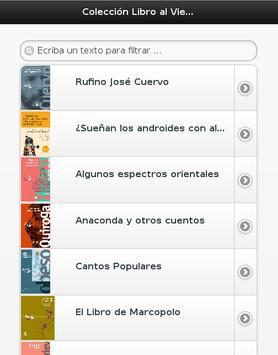 Colección Libro al Viento apk screenshot