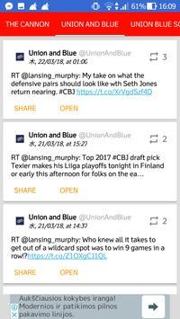 Columbus Blue Jackets All News screenshot 4