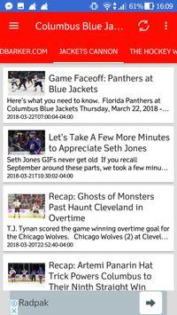 Columbus Blue Jackets All News screenshot 6