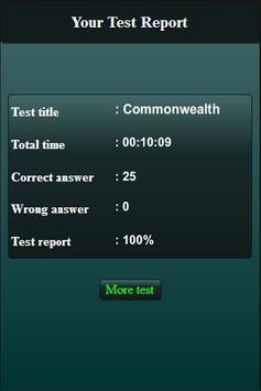 Commonwealth Quiz screenshot 5
