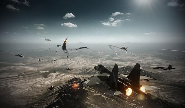 Combat Aircraft Crash Game screenshot 1
