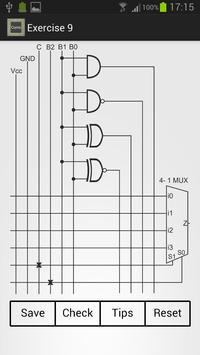 Combinational Circuits apk screenshot
