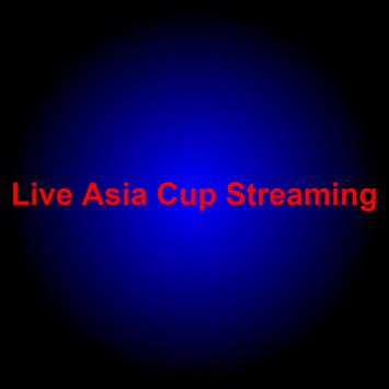 Live Asia Cup poster