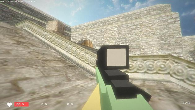 CubicStrike Online Multiplayer apk screenshot