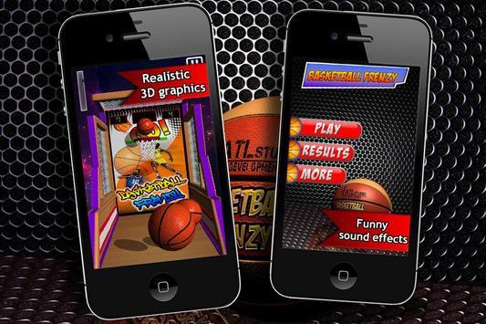Basketball Frenzy poster
