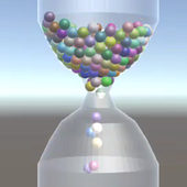 Realistic 3D HourGlass icon