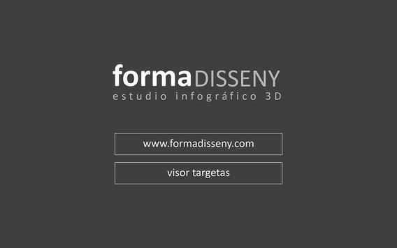 FORMA I DISSENY TARJETES poster