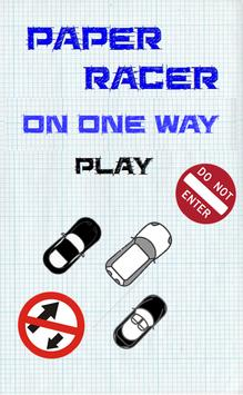 Paper Racer On One Way poster