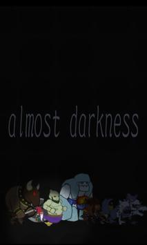 almost darkness poster