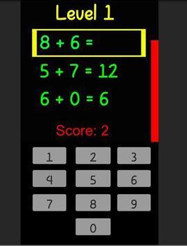 RapidMath screenshot 1
