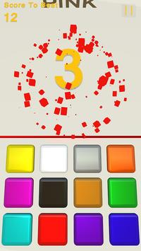 Smashy Color Cube Stroop Effect screenshot 2
