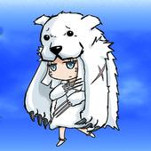White GO! icon
