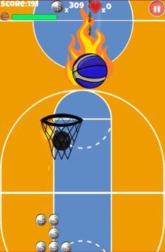 Basket ball apk screenshot