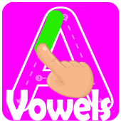 Learn the vowels icon