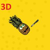 Pineapple Pen 3D icon