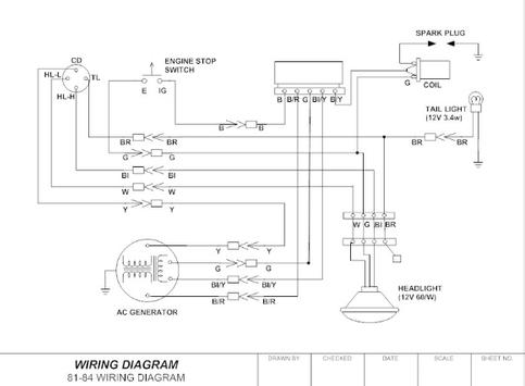 Complete Electrical Wiring Diagram poster