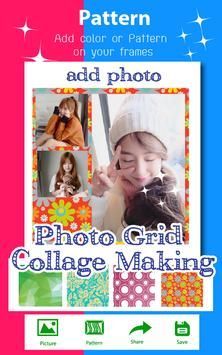 Photo Grid Collage Making poster