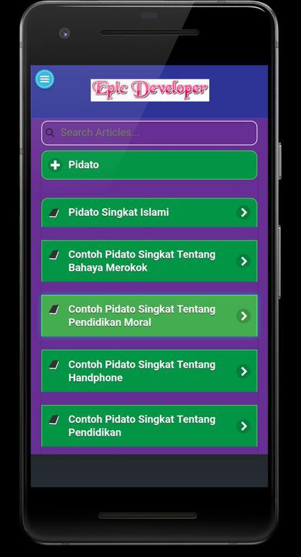 Contoh Teks Pidato Singkat Sambutan Lengkap For Android Apk Download
