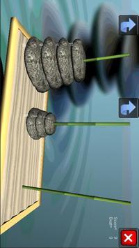 Hanoi Tower 3D Puzzle screenshot 1