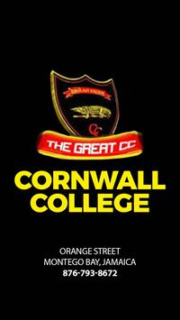 Cornwall College poster