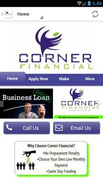 Corner Financial apk screenshot