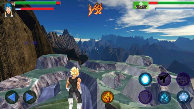 Vegeta Titan Battles screenshot 4
