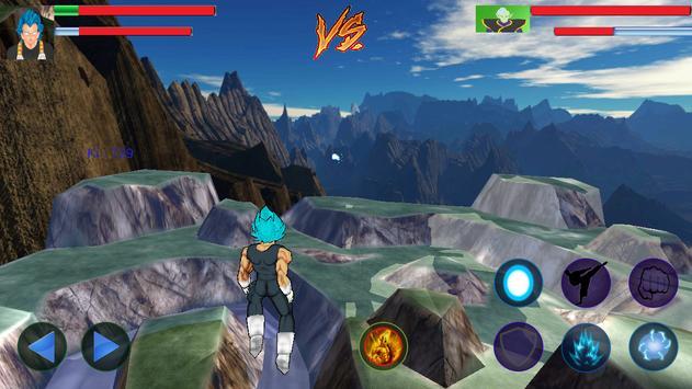 Vegeta Titan Battles-poster