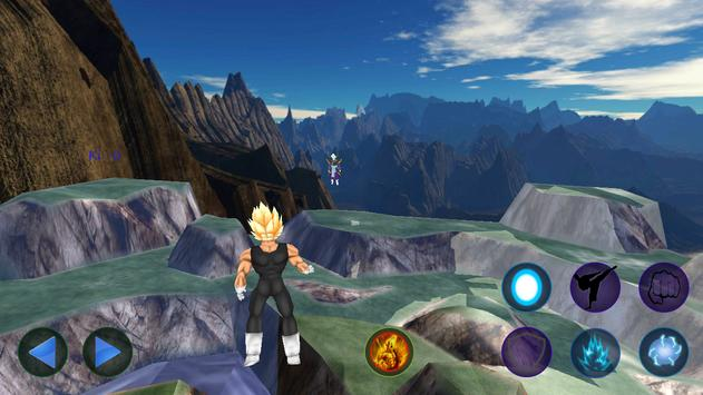 Vegeta Titan Battles screenshot 1