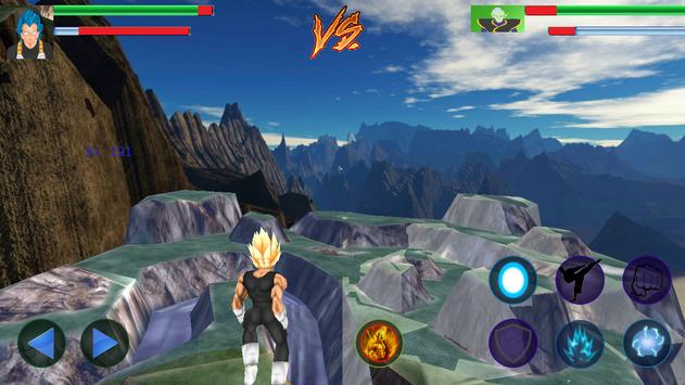 Vegeta Titan Battles screenshot 2