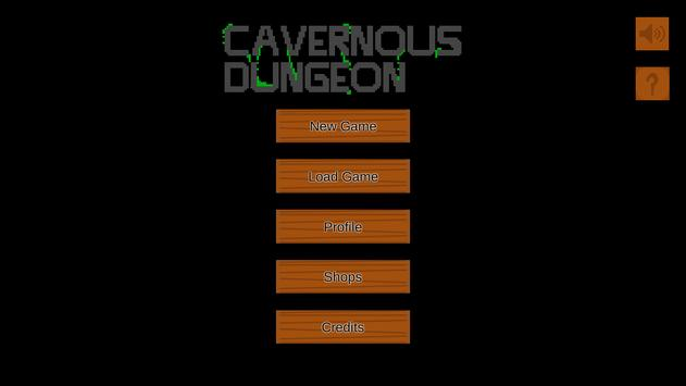 Cavernous Dungeon poster