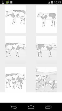 cow coloring games screenshot 2