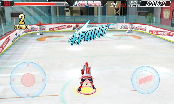 아이스하키-원타이머 (무료) apk screenshot