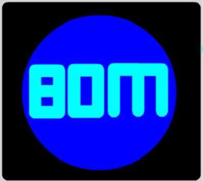 Simple count down boom text apk screenshot