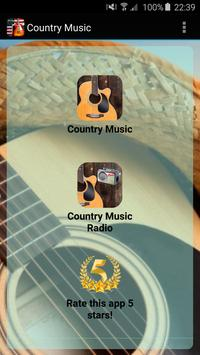 Radio Country Music poster