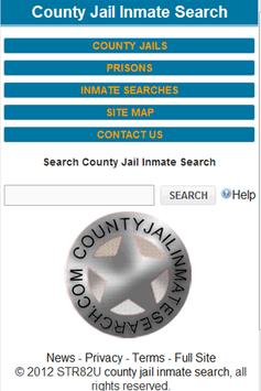 County Jail Inmate Search Original poster