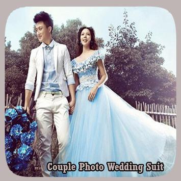 Couple Photo Wedding Suit poster