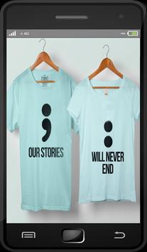 Couple Shirt Design (Best) screenshot 1