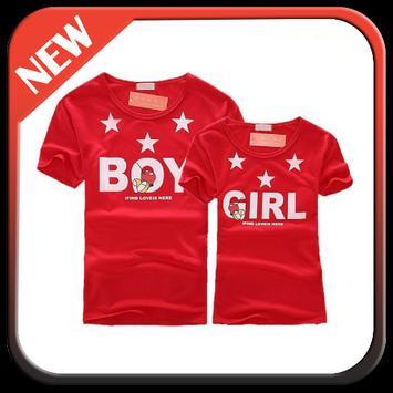 Couple Shirt Design apk screenshot