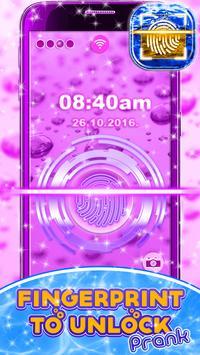 Fingerprint To Unlock Prank poster