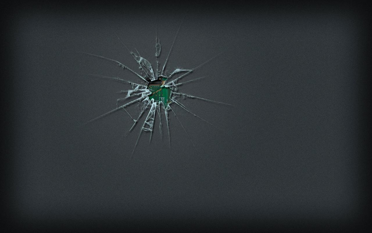 Cracked Screen Live Wallpaper For Android