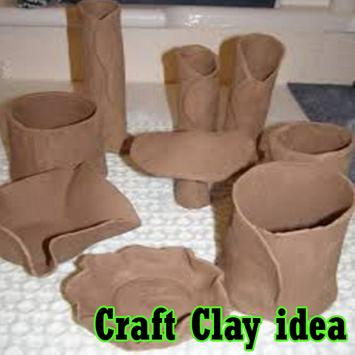 Craft Clay idea poster