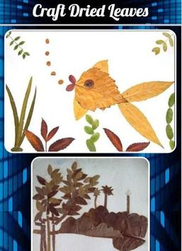 Craft Dried Leaves Affiche