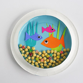 Craft Paper Plate icon