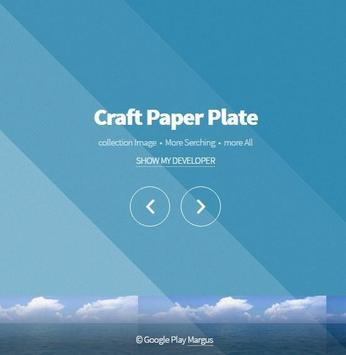 Craft Paper Plate poster