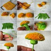 Crafts Made Of Flowers icon