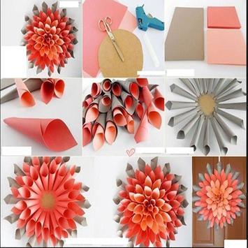 Crafts Made Of Flowers apk screenshot