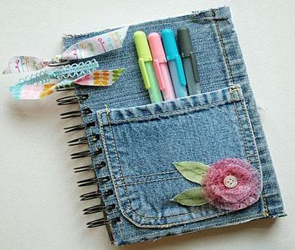 crafts from second hand jeans apk screenshot