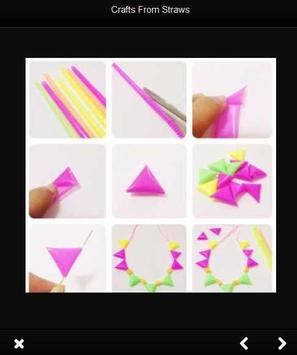 Crafts from straws screenshot 1
