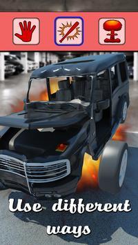 Crash Suv Gelandewagen 3D apk screenshot